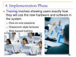 4 implementation phase3