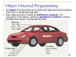 object oriented programming