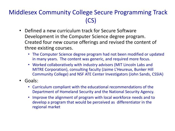 Middlesex Community