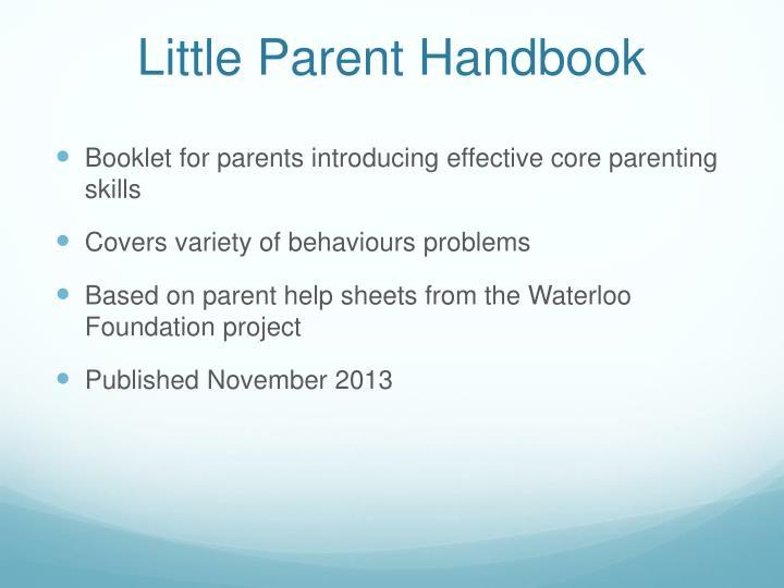 Little Parent Handbook
