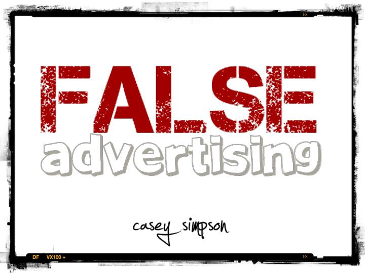 liabilty of false advertisement Finally, understand that advertising liability, in large part, does not depend on intent it is not necessary that a competitor or consumer prove that someone intentionally presented a false advertisement for liability to exist the risk for penalties and fines focus most often on those who.