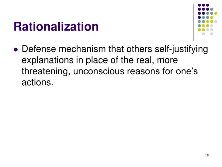 Rationalization