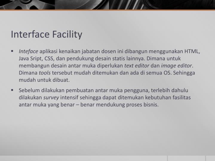 Interface Facility