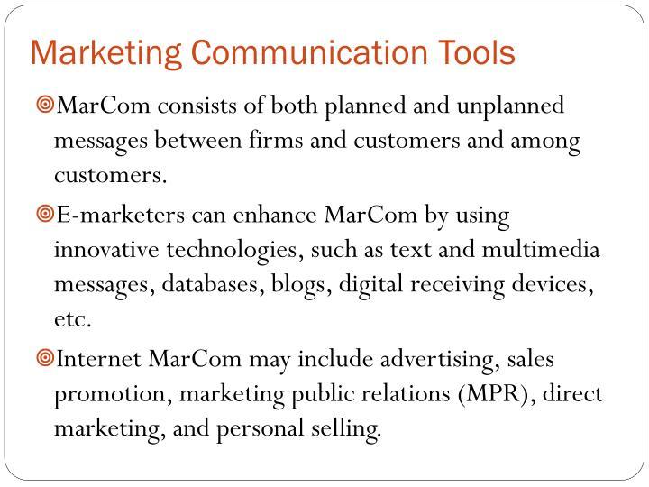 Marketing Communication Tools