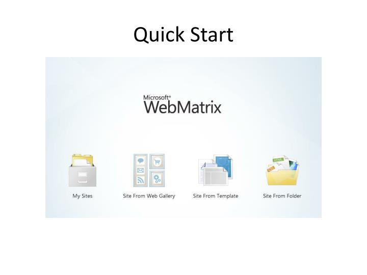 Quick Start