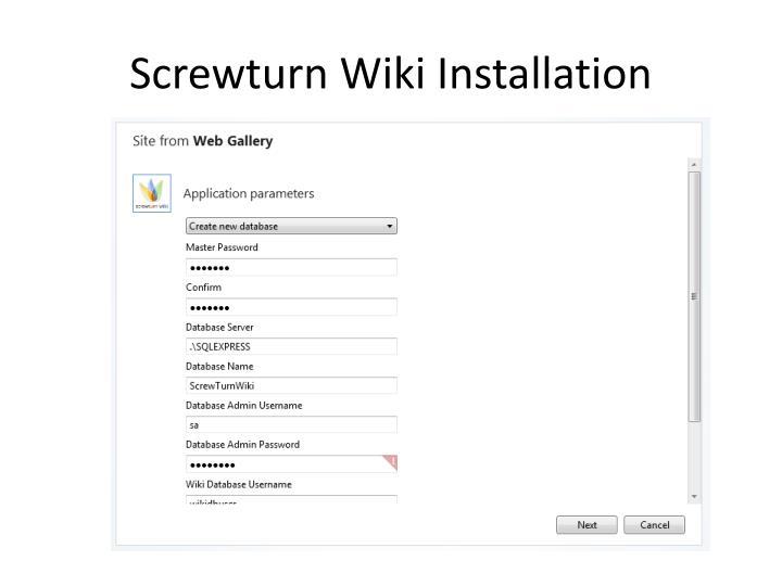 Screwturn