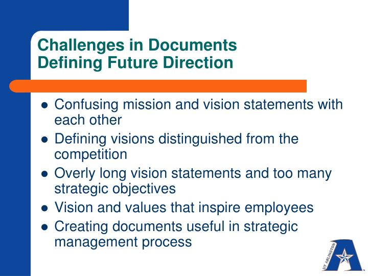 Challenges in Documents