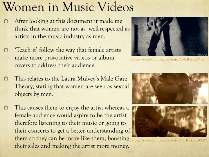 Women in Music Videos