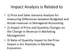 impact analysis is related to