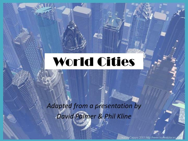 world cities n.