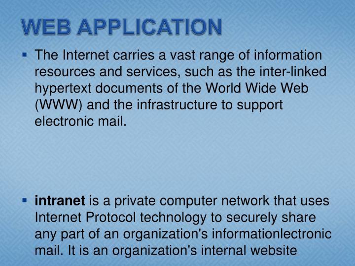 WEB APPLICATION
