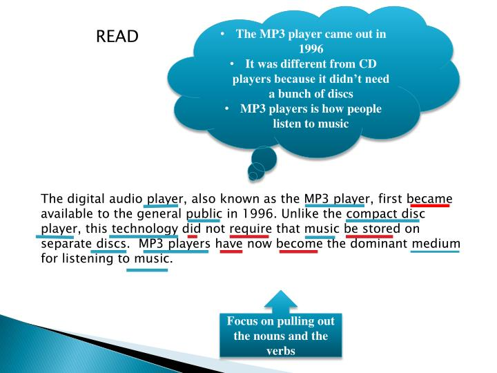 The MP3 player came out in 1996
