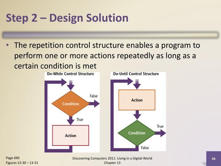 Step 2 – Design Solution