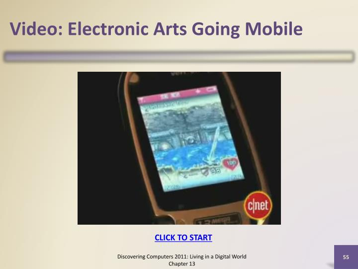 Video: Electronic Arts Going Mobile
