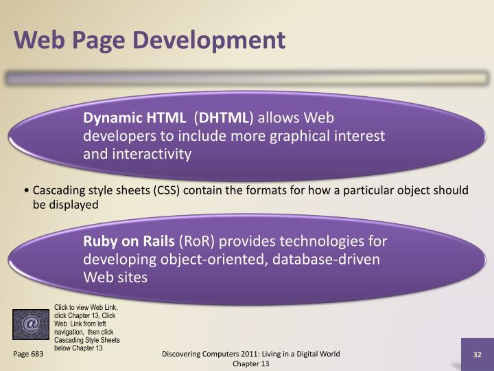 Web Page Development