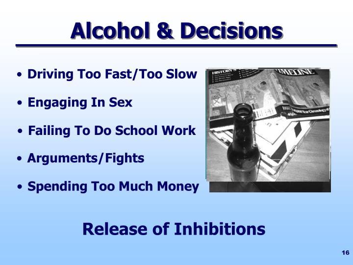 Alcohol & Decisions