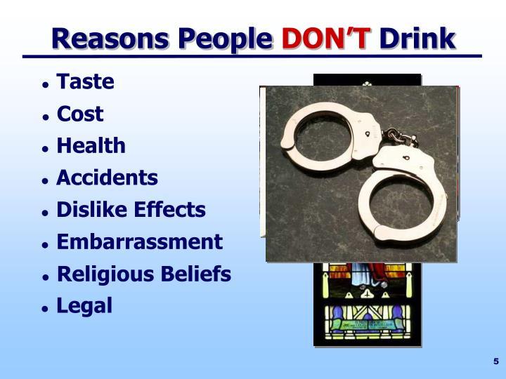Reasons People