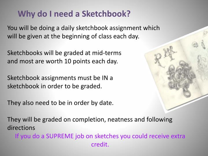 Why do I need a Sketchbook?