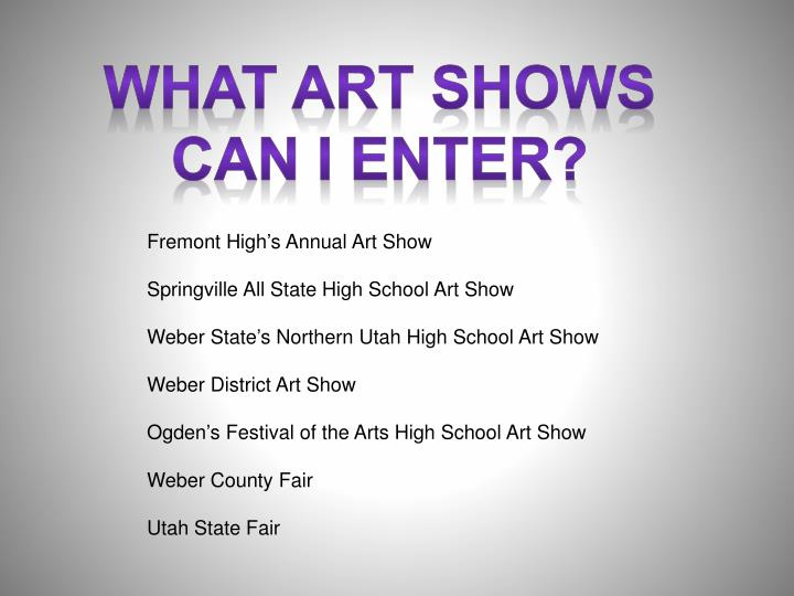 What art shows