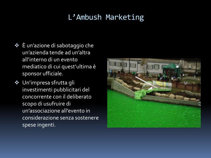 L'Ambush Marketing