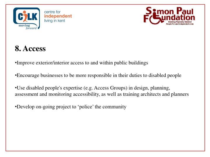 8. Access