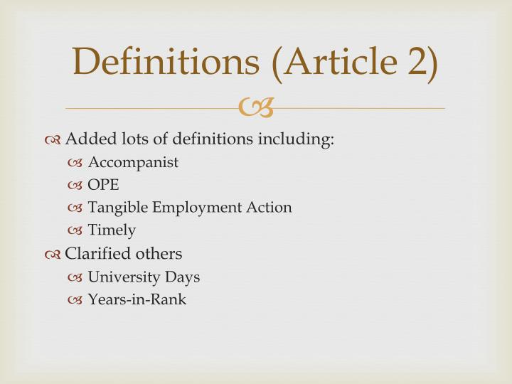 Definitions (Article 2)
