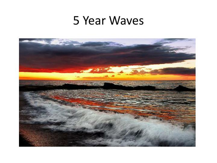 5 Year Waves