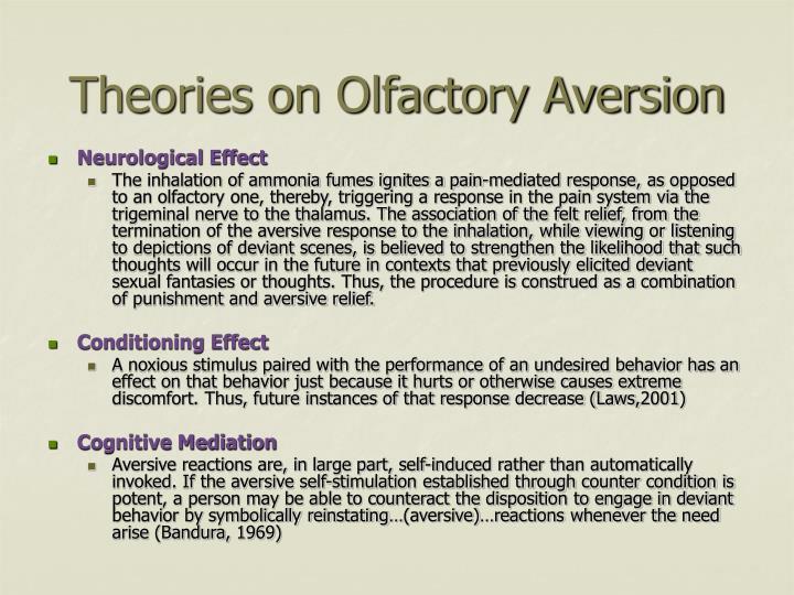 Theories on Olfactory Aversion