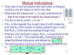 mutual inductance