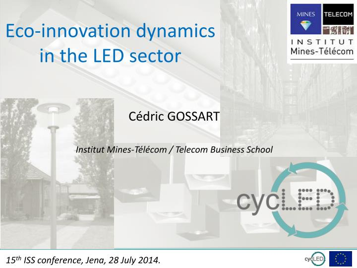 eco innovation dynamics in the led sector