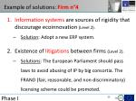 example of solutions firm n 4