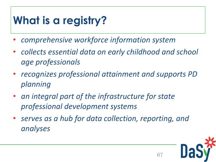 What is a registry?