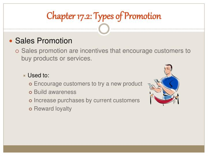 Chapter 17.2: Types of Promotion