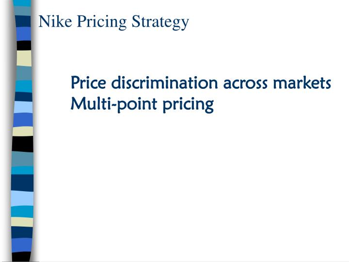 Nike Pricing Strategy