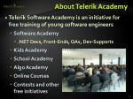 about telerik academy1