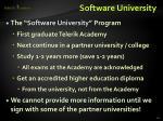 software university1