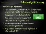 telerik algo academy1