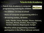 telerik kids academy1
