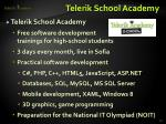 telerik school academy1