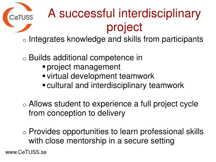 Integrates knowledge and skills from participants