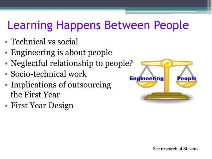 Learning Happens Between People