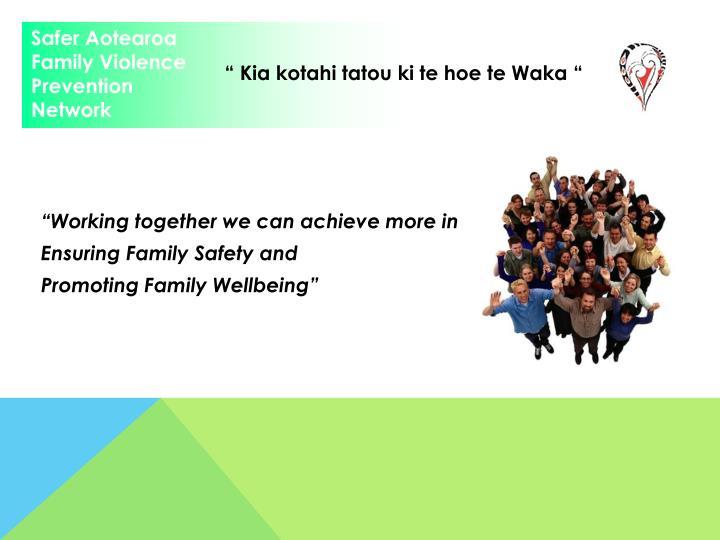 Safer Aotearoa