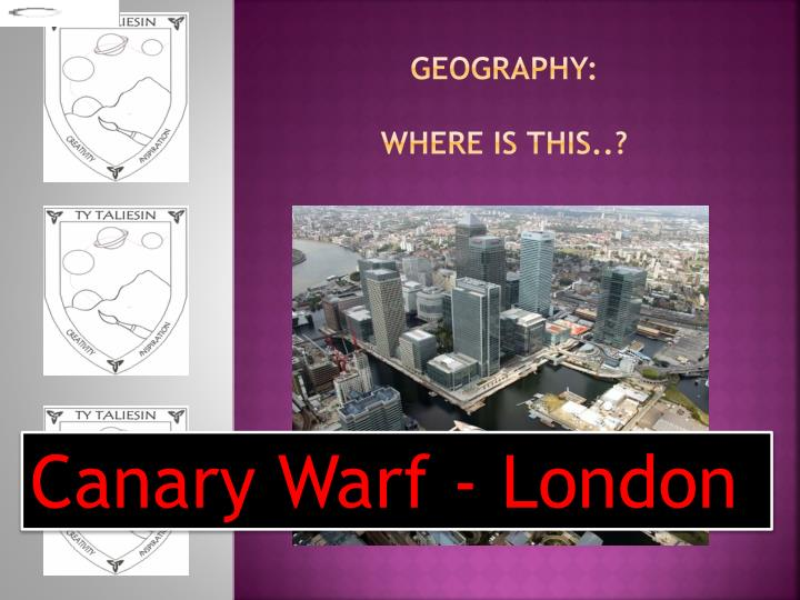 geography: