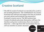 creative s cotland