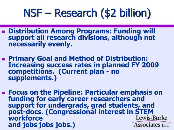 Nsf research 2 billion