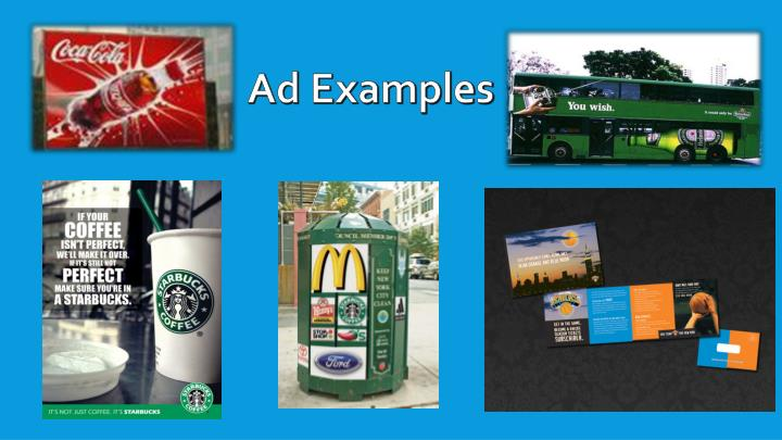 Ad Examples