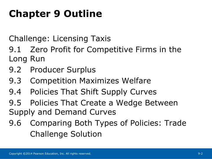 Chapter 9 outline