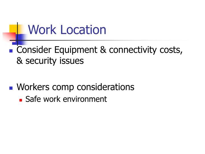 Work Location