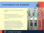 university of warsaw1