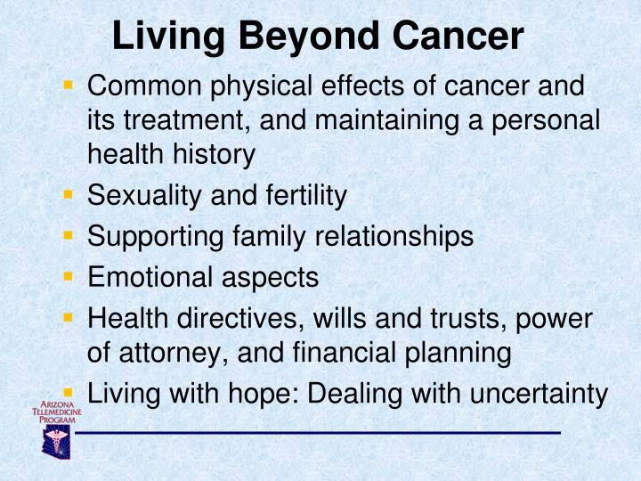 Living Beyond Cancer